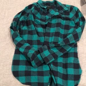 Heavy cotton/wool plaid shirt